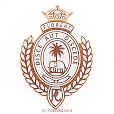 Royal College Car Badge - Gold By Royal College at Kapruka Online for specialGifts