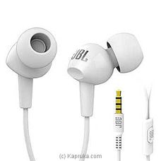 JBL C100SI High Performance In-ear Headphones With MIC (White) By JBL at Kapruka Online forspecialGifts