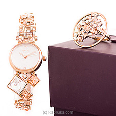 Titan Ladies Watch With Ring By TITAN at Kapruka Online for specialGifts