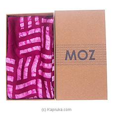 MOZ Silk Pink Scarf By MOZ at Kapruka Online for specialGifts