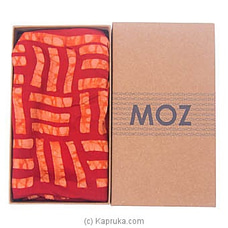 MOZ Silk Red Scarf By MOZ at Kapruka Online forspecialGifts