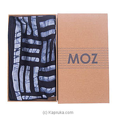 MOZ Silk Scarf (Black) at Kapruka Online