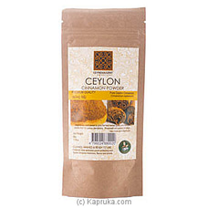 Ceyndulgent Ceylon Cinnamon Powder 50g Pack By Ceyndulgent at Kapruka Online forspecialGifts