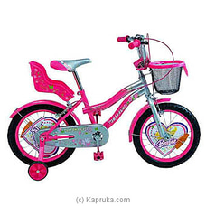Tomahawk Barbie Kids Bicycle - Hot Pink - 16` By TOMAHAWK at Kapruka Online for specialGifts