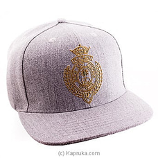 Royal College Grey Cap With Gold Logo By Royal College at Kapruka Online for specialGifts