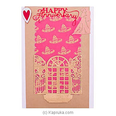 Handmade Happy Anniversary Greeting Cardat Kapruka Online for specialGifts