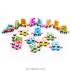Cartoon Alphabet Car By Brightmind at Kapruka Online for specialGifts