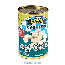 Royal Cashews - Cashew Curry Tin 400g By Royal Cashews at Kapruka Online for specialGifts