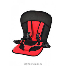 Multi- Function Car Cushion - Red By FIRST SMILE at Kapruka Online for specialGifts
