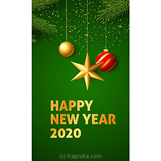 New Year Greeting Cardat Kapruka Online for specialGifts