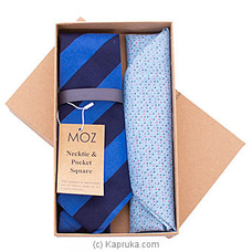 Gents Batik Tie - Blue Stripes By MOZ at Kapruka Online forspecialGifts