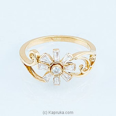 Swarnamahal 22kt Yellow Gold Ring- RI0001535 at Kapruka Online
