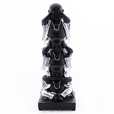 Three Wise Laughing Buddha Statue By Habitat Accent at Kapruka Online for specialGifts