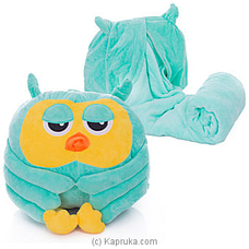 Green Owl Blanket By Huggables at Kapruka Online for specialGifts