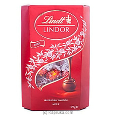 Lindor Irresistibly Smooth Milk Chocolate 375g By Lindt at Kapruka Online for specialGifts