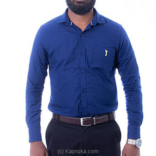 Golf Long Sleeve Corporate Shirt - Navy Blue - By Urban Golf at Kapruka Online for specialGifts