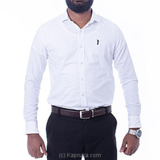 Golf Long Sleeve Corporate Shirt - White - By Urban Golf at Kapruka Online for specialGifts