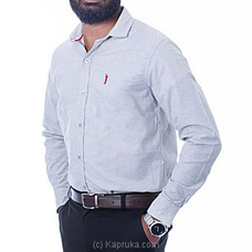 Golf Long Sleeve Corporate Shirt - Light Gray - By Urban Golf at Kapruka Online for specialGifts
