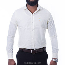 Golf Long Sleeve Corporate Shirt - Light Yellow - By Urban Golf at Kapruka Online for specialGifts