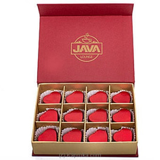 Java Valentine Milk Chocolate Filled With Cashew 12  Piece Chocolate Box By Java at Kapruka Online for specialGifts