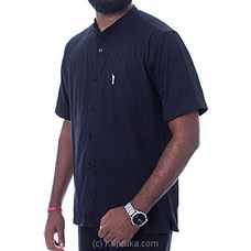 Golf Short Sleeve Shirt - Black - By Urban Golf at Kapruka Online for specialGifts