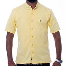 Golf Short Sleeve Shirt - Yellow - FORHIM at Kapruka Online