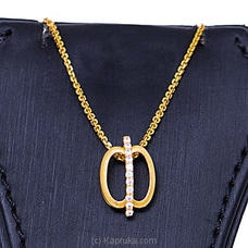 Vogue 22K Gold Pendant  With 11 (c/z) Rounds By Vogue at Kapruka Online forspecialGifts
