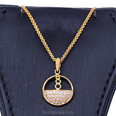 Vogue 22K Gold Pendant With 28 (c/z) Rounds By Vogue at Kapruka Online forspecialGifts