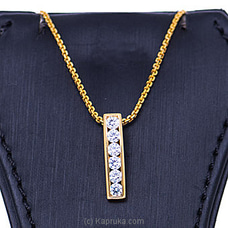 Vogue 22K Gold Pendant Set With 6 (c/z) Rounds By Vogue at Kapruka Online forspecialGifts