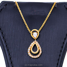 Vogue 22K Gold Pendant With 20 (c/z) Rounds at Kapruka Online