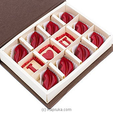 Java Caramel Filled Lips Bite 12 Piece Chocolate Box By Java at Kapruka Online for specialGifts