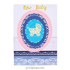 Handmade New Born Greeting Card at Kapruka Online