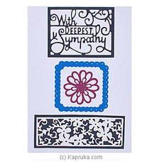 Handmade Sympathy Cards By NA at Kapruka Online for specialGifts