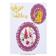 Handmade Wedding Greeting Card By NA at Kapruka Online for specialGifts