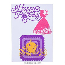 Handmade Happy Birthday Greeting Card By NA at Kapruka Online for specialGifts