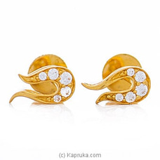 Vogue 22K Ear Stud Set With 10 Cz Rounds By Vogue at Kapruka Online forspecialGifts