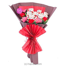 Teddy Blossoms Bunch VALENTINE at Kapruka Online
