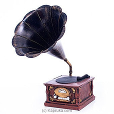 Antique Gramophone Ornament By Habitat Accent at Kapruka Online for specialGifts