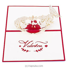 Romance 3D Popup Greeting Card VALENTINE at Kapruka Online