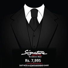 Signature Voucher For Suit By Hameedia at Kapruka Online for specialGifts