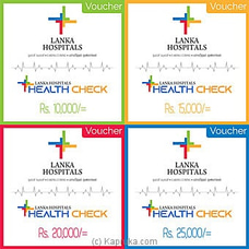 Lanka Hospitals Voucher- By Lanka Hospitals at Kapruka Online for specialGifts