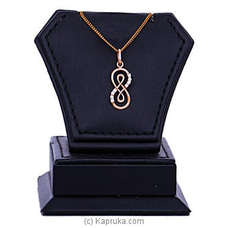 18kt Red Gold Pendant With Cubic Zirconia (P1592-3) By Mallika Hemachandra Jewellers at Kapruka Online for specialGifts