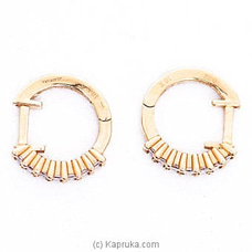 18k Rose Gold Earrings (ALE 1478 PINK) By Alankara at Kapruka Online forspecialGifts