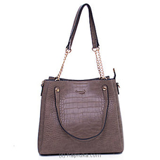 Women`s Khaki Color Handbag at Kapruka Online