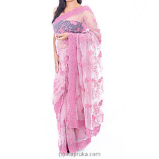 Net Saree With Blouse Pieceat Kapruka Online for specialGifts