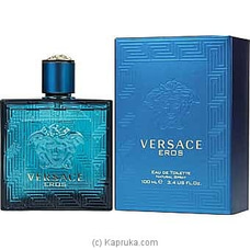 Versace Eros Eau De Toilette Spray For Men 100ml By Versace at Kapruka Online forspecialGifts