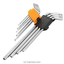 Tolsen 9pcs Torx Extra-Long Arm Hex Key Set TOL20057 By TOLSEN Tools at Kapruka Online forspecialGifts