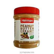Herman Peanut Butter Creamy 340g By NA at Kapruka Online for specialGifts
