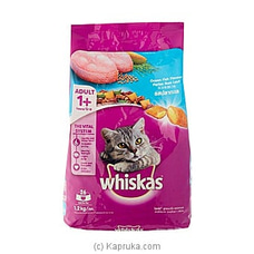 Whiskers Cat Food (1.2kg) - Limit 1 per customer By NA at Kapruka Online forspecialGifts