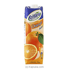 Fontana Orange Juice 100% NATURAL -1L By Fontana at Kapruka Online for specialGifts
